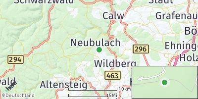 Google Map of Neubulach