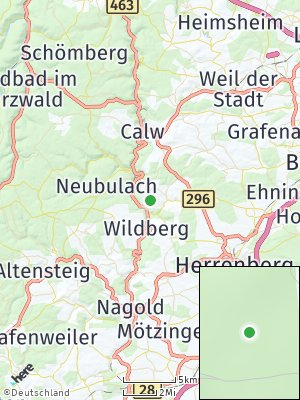 Here Map of Holzbronn
