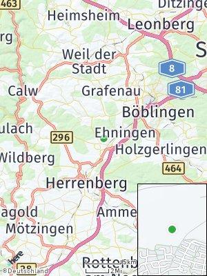 Here Map of Gärtringen