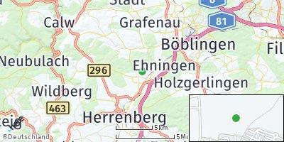 Google Map of Gärtringen