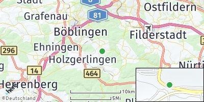 Google Map of Schönaich