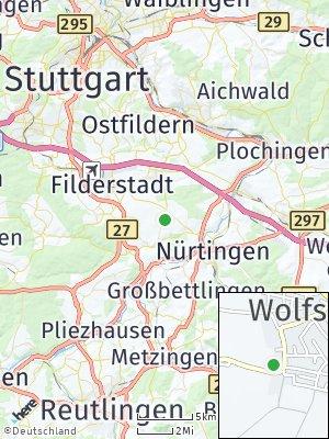 Here Map of Wolfschlugen