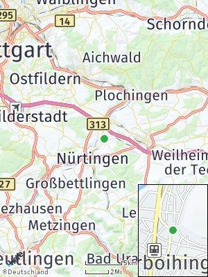 Here Map of Oberboihingen