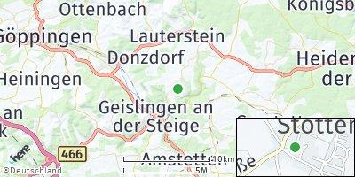 Google Map of Stötten
