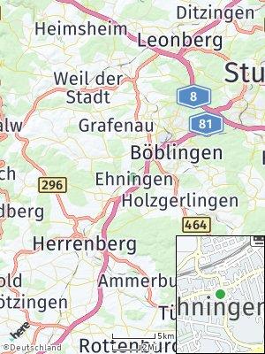 Here Map of Ehningen