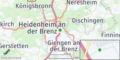 Google Map of Oggenhausen