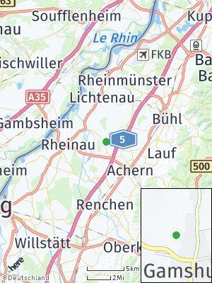 Here Map of Gamshurst
