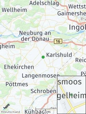 Here Map of Königsmoos