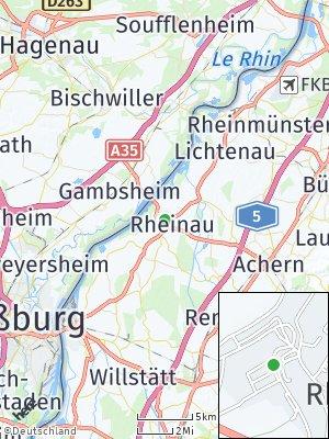 Here Map of Rheinau