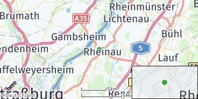 Google Map of Rheinau