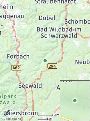 Here Map of Enzklösterle