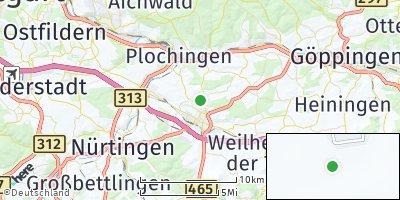 Google Map of Notzingen