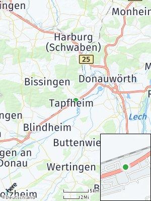Here Map of Tapfheim