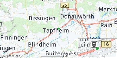 Google Map of Tapfheim