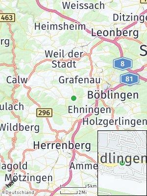 Here Map of Aidlingen