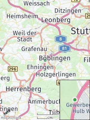 Here Map of Maichingen