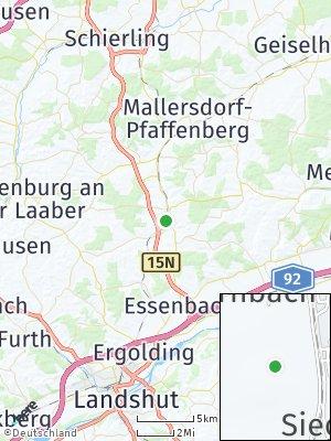 Here Map of Ergoldsbach