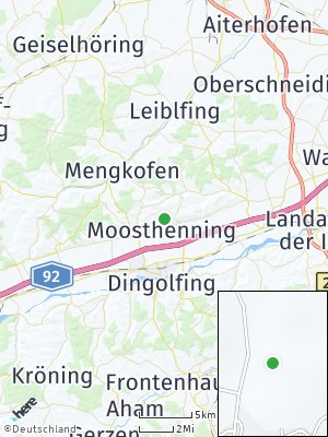 Here Map of Moosthenning