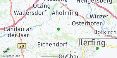 Google Map of Wallerfing