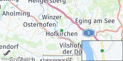 Google Map of Hofkirchen