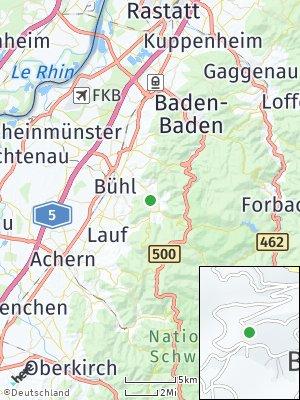 Here Map of Bühlertal