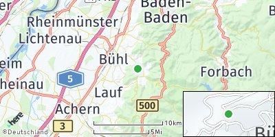 Google Map of Bühlertal