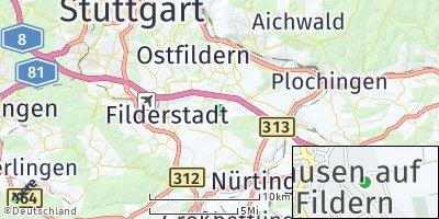 Google Map of Neuhausen auf den Fildern