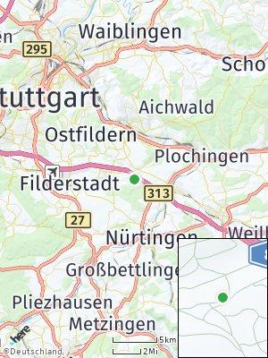 Here Map of Denkendorf