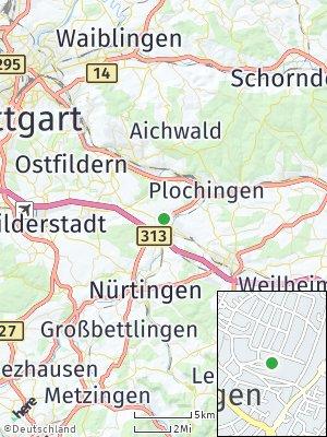 Here Map of Köngen
