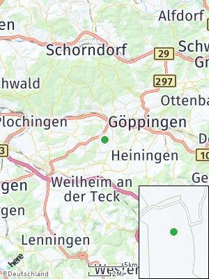 Here Map of Albershausen