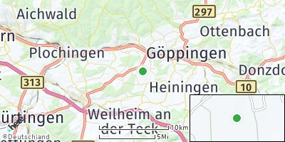 Google Map of Albershausen
