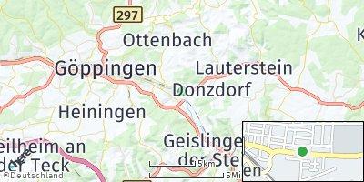 Google Map of Süßen