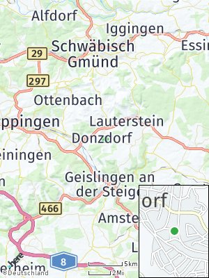 Here Map of Donzdorf