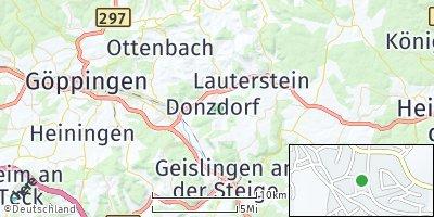 Google Map of Donzdorf