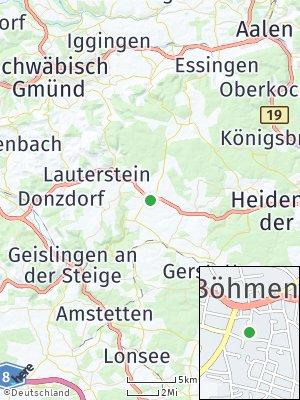 Here Map of Böhmenkirch
