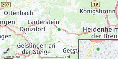 Google Map of Böhmenkirch