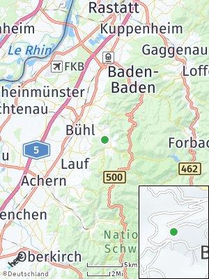 Here Map of Gemeinde Bühlertal