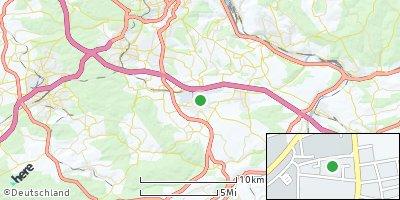 Google Map of Bernhausen
