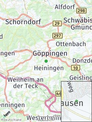 Here Map of Jebenhausen