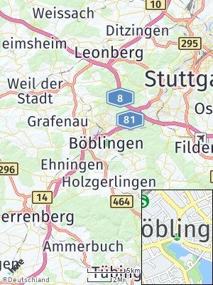 Here Map of Böblingen