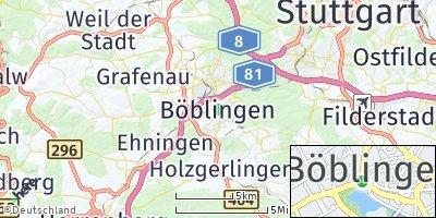 Google Map of Böblingen
