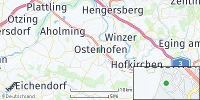 Google Map of Osterhofen