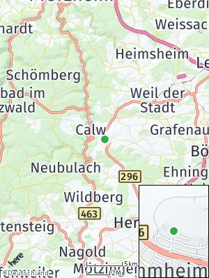 Here Map of Stammheim