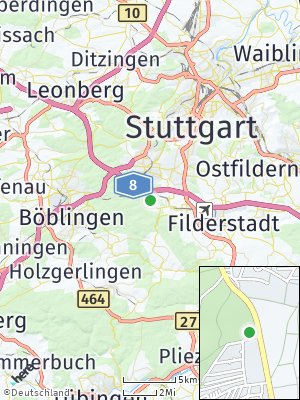 Here Map of Musberg