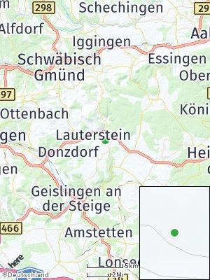Here Map of Lauterstein