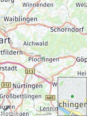 Here Map of Plochingen