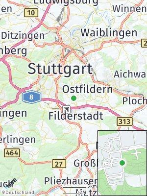 Here Map of Hohenheim