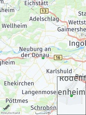 Here Map of Marienheim