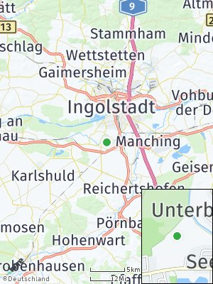 Here Map of Unterbrunnenreuth