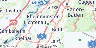 Google Map of Oberbruch